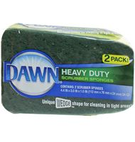 Heavy Duty Scrubber Sponge 2ct