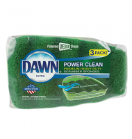 Dawn 3ct Power Clean Scrubber Sponge